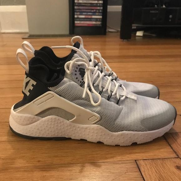 Nike Air Huarache Ultra Size 7 White Black 8f82c8945bff